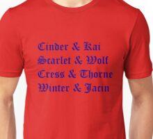 Lunar Chronicles Couples Unisex T-Shirt
