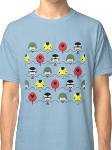 Cartoon Birdy Pattern Classic T-Shirt