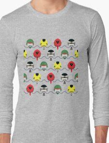 Cartoon Birdy Pattern Long Sleeve T-Shirt