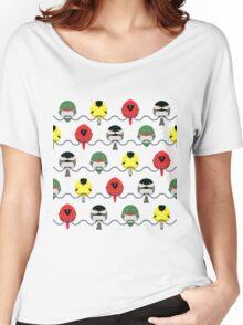 Cartoon Birdy Pattern Women's Relaxed Fit T-Shirt