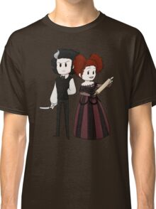 Sweeney Todd & Mrs. Lovett Classic T-Shirt