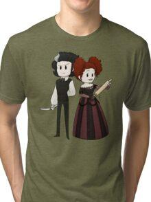 Sweeney Todd & Mrs. Lovett Tri-blend T-Shirt