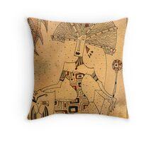 The Empress - Major Arcana Throw Pillow