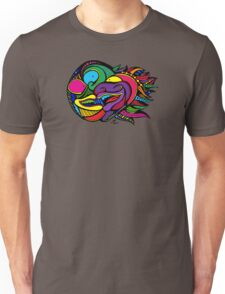 Colored Doodle Two-Face Unisex T-Shirt
