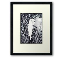 In His Forest Framed Print
