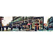 Vienna street Photographic Print