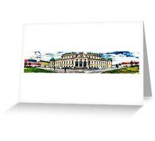 Vienna Belvedere Greeting Card