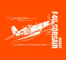 F4U Corsair Fighter Bomber Kids Tee