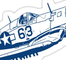 F4U Corsair Fighter Bomber Sticker