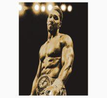 Anthony Joshua Heavyweight Boxer - Yellow effect Boxing Kids Tee