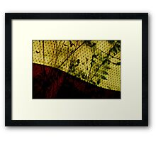 Moroccan Tent Framed Print