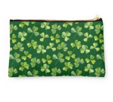 Clover. Green pattern Studio Pouch