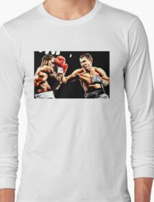 FAN ART - Gennady Golovkin Boxing Long Sleeve T-Shirt