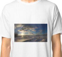 Wasaga Beach Sunset - February 2016 - Photo Classic T-Shirt