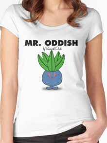 Mr. Oddish Women's Fitted Scoop T-Shirt
