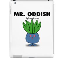 Mr. Oddish iPad Case/Skin