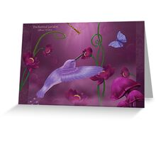 Enchanted Garden Greeting Card