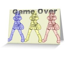 Ramona Flowers Game Over Greeting Card