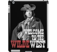 Welcome to the Wilde West iPad Case/Skin