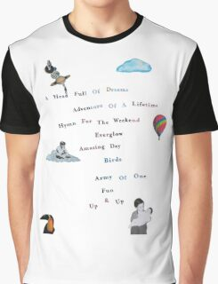 A Head Full of Dreams Graphic T-Shirt