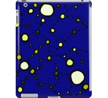 Mapping the Galaxy COLORIZED INDIGO GOLD iPad Case/Skin