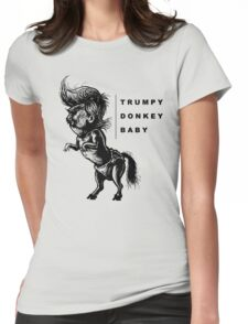 TrumpyDonkeyBaby Womens Fitted T-Shirt