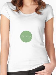 There and Back Again Women's Fitted Scoop T-Shirt