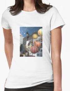 Hot Reflections Womens Fitted T-Shirt