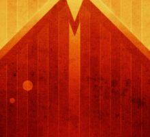Mars - Olympus Mons Sticker