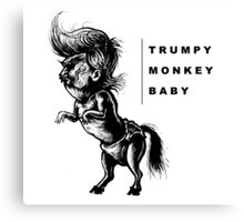 TrumpyDonkeyBaby art Canvas Print