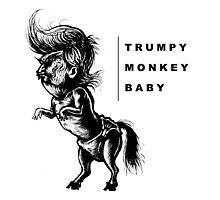 TrumpyDonkeyBaby art Photographic Print