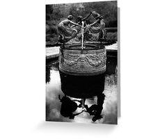 Untermyer Fountain Greeting Card