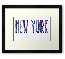 New York Pulitzer Framed Print