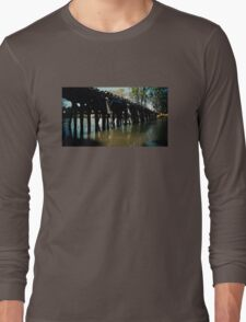 Chinaman's Bridge, Nagambie Long Sleeve T-Shirt