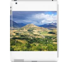 Across the valley, Queenstown district iPad Case/Skin