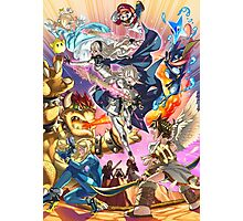 Smash 4 Corrin Reveal Illustration From Fire Emblem Fates Photographic Print
