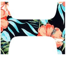 Theta Floral Greek Letter Sticker