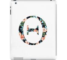 Theta Floral Greek Letter iPad Case/Skin