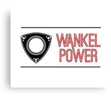 Wankel Power Canvas Print
