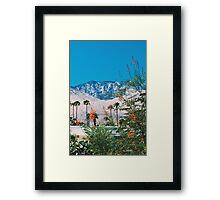 Desert Blooms No.2 (Palm Springs) Framed Print