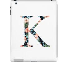 Kappa Floral Greek Letter Design iPad Case/Skin