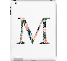 Mu Flora Greek Letter iPad Case/Skin