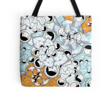 Geometric Babushka Matryoshka Dolls - Pattern Tote Bag