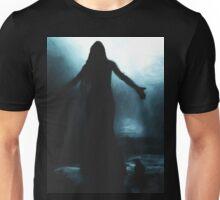 celtic goddess morrigan crow raven rain water woman animal mythical Unisex T-Shirt