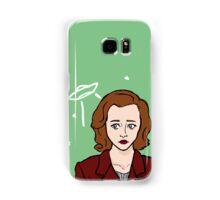 Special Agent Dana Scully Samsung Galaxy Case/Skin
