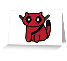 KittyPool Greeting Card
