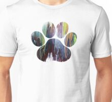 Dog Paw Art Unisex T-Shirt