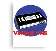 Vintage VHS Canvas Print