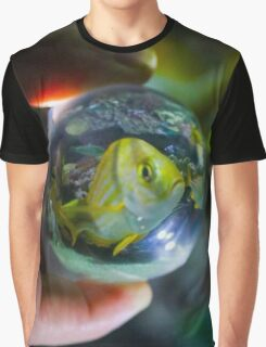 Fish Through a Crystal Ball  Graphic T-Shirt
