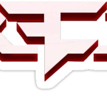 Red Reserve Logo Sticker